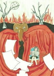 Baudelaire Blasphème, par Kelly Garcia.