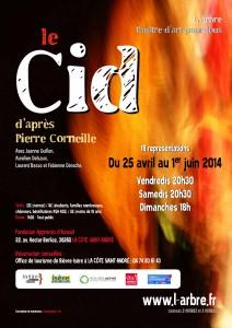 affiche Cid 2014